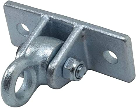 50cm 60 cm lang 60 cm 2 St/ück h2i Bodenanker Grundanker Erdanker aus verzinktem Stahl zum Eindrehen//L/änge