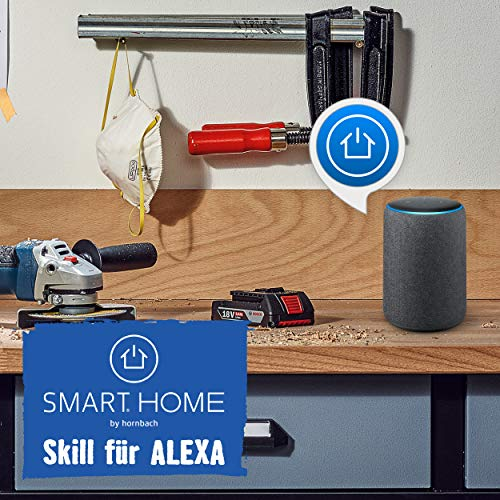 SMART HOME by hornbach Starter Set Sicherheit Gateway, Fibaro Tür-Fensterkontakt, Fibaro Rauchmelder, Fibaro Wassermelder - 4