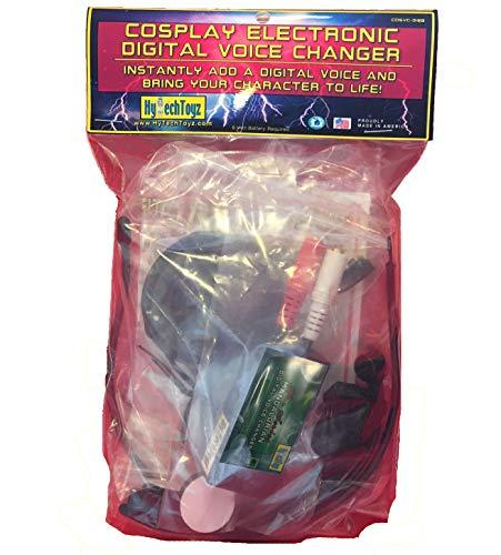 MANDALORIAN - BOBA FETT HELMET VOICE CHANGER COSPLAY HALLOWEEN COSTUME SET MICROPHONE & SPEAKER - MAKES YOUR VOICE SOUND LIKE MANDALORIAN