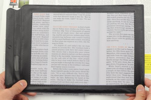 AUMBOW A4 Full Page Magnifier Sheet LARGE Magnifying Glass Assisted Reading...