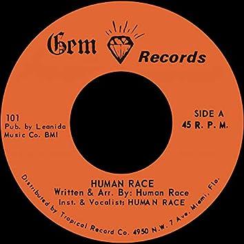 Human Race b/w Grey Boy