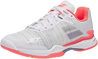 Babolat Jet Mach II All Court White/Fluo Pink Womens Tennis Shoe