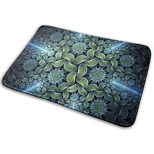 Odelia Palmer Bodenmatte Teppich Vordertürmatte mit Rutschfester Gummiunterlage, Bedrucken von Fußmatten mit Abstract Cool Outlet Art.-Nr.