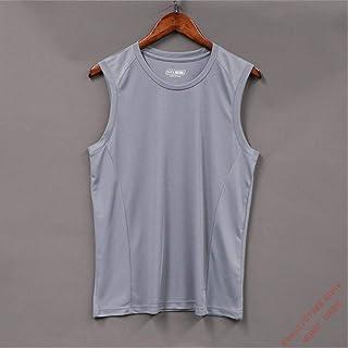 Quick-Drying Short-Sleeved Clothes Men'S Summer Sports Running Vest