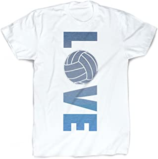 Love T-Shirt | Vintage Faded Volleyball T-Shirt by ChalkTalkSPORTS