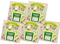緑茶&ハーブ 煎茶&レモングラス1.5g×3P×5袋セット
