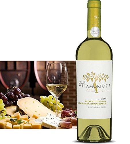 Muscat Ottonel & Tamaioasa Romaneasca 2017   Trockener Weisswein 12,5%   Qualitätswein aus Rumänien - Dealu Mare, DOC – CMD