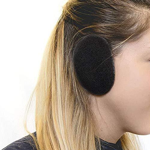 AgoKud Earmuffs Earbags Bandless Ear Warmers Ear Covers for Women amp MenBlack