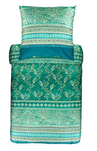 Bassetti 9311784 Bettwäsche Matera V1 grün 135 x 200 cm