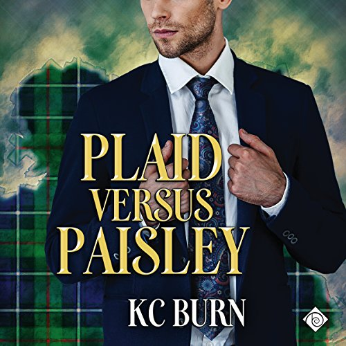 Plaid Versus Paisley audiobook cover art