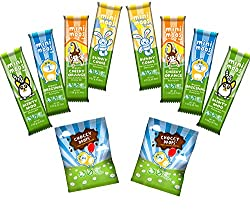 Includes - Choccy Drops (25g) Bunnycomb Bar (25g) Lily-Lu's Minty Moo (23g) Original Bar (20g) Cheeky Orange (23g) 2 x Original Mini Moo 20g, 2 x Orange Mini Moo 20g 2 x Minty Mini Moo 20g, 2 x Bunnycomb Mini Moo 20g,2 x Choccy Chums Surprises 20g Da...