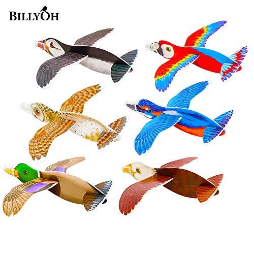 12 aviones de poliestireno, 16 cm, regalo de cumpleaños HB