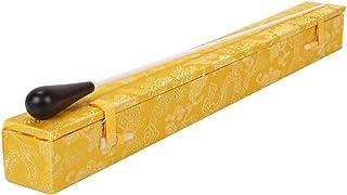タクトケース ハード 指揮棒 ケース タクトハードケース 2本入り用 全面保護 携帯便利 高級感 おしゃれ 黄色