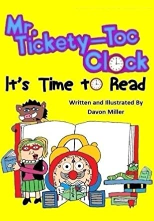 Mr. Tickety-Toc Clock: It's Time to Read