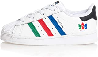 adidas Scarpe Superstar El I Bianco/Multicolor A/I 2020 FW5240