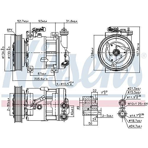 Nissens 89120 Clima compressori
