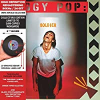 Soldier - Cardboard Sleeve - High-Definition CD Deluxe Vinyl Replica by Iggy Pop (2014-01-28)
