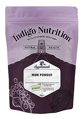 Indigo Herbs MSM Crystal Powder 250g (Methylsulfonylmethane)