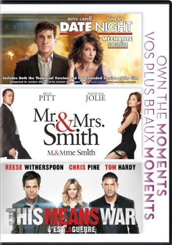 Date Night / Mr & Mrs. Smith / This Means War (Triple Feature)