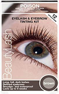 Refectocil Eyelash Eyebrow BeautyLash Tint Kit - BROWN + FREE 3x Mascara Wands