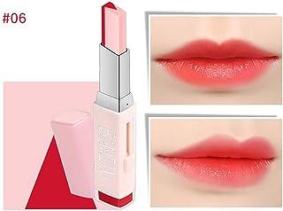 Beito 1 UNID Maquillaje Dos tonos Lápiz labial Hidratante Gradiente Lápiz labial Larga duración Labio Labio Belleza Labios...