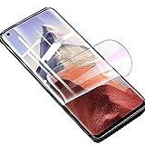 【2 Piezas】Película de Hidrogel Protector de Pantalla Compatible con Xiaomi Mi 11 Lite / Mi 11 Lite 5G, 【Cobertura Completa】Película Protectora de TPU Suave Transparente (Película no Templada)