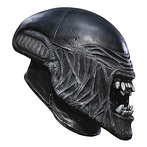 XiaoYing Accesorios de vacaciones Alien Predator Cosplay Máscara de látex Halloween...