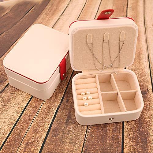 ZYC Mini bonito molde para tartas, macarons, joyas, caja de almacenamiento para collares, pendientes, organizador, regalo para niñas, decoración de mesa, color blanco