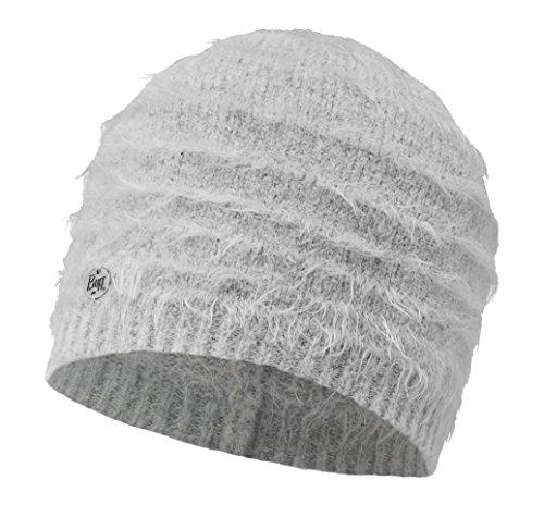 BUFF® SET - KNITTED HAT Bonnet de Hiver + UP® Tissu tubulaire   Tricoté   Doux   Vintage Aspect   Bonnet, Buff Knitted:ESKIMO GLACIER GREY / 2007.936.10