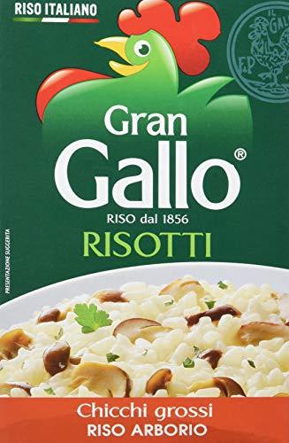 Gran Gallo - Risotti, Riso Arborio, Chicchi Grossi - 500 G