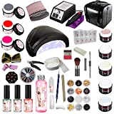 Kit XXXL de manucure gel UV Kit de démarrage Salon manucure