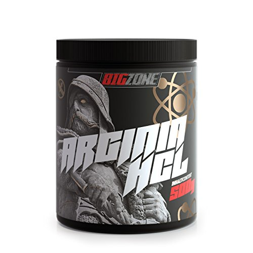 Big-Zone L-Arginin HCL Pulver Aminosäure Booster   Rein & optimal löslich   Top Qualität   Power, Kraft, Ausdauer, Pump   500g