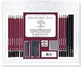 Studio Series 25-Piece Sketch & Drawing Pencil Set (Artist's Pencil &...