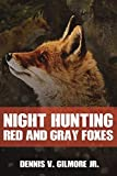 Night Hunting Red And Gray Foxes
