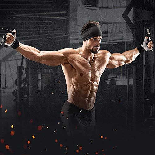 RDX-Gel Gewichtheben Bodybuilding Handschuhe Fitness Band Schulung Leder Schulung Gr. L - 4