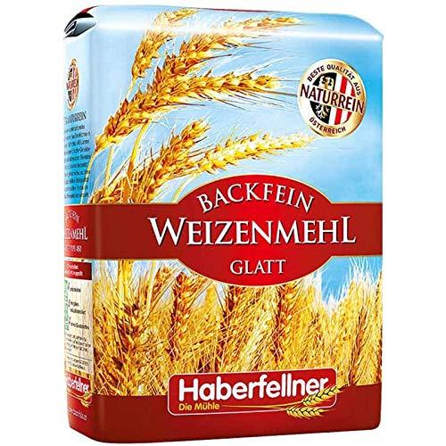 Haberfellner Weizenmehl Type 405 / W480 glatt (5 kg)