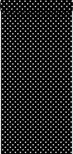 Tapete Punkte Schwarz und Weiß - 138501 - von ESTAhome