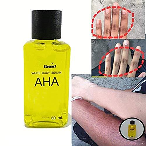STCorps7 Best Whitening AHA Serum Fast Whitening Body Intensive Serum Bleaching Brightening Skin With Vitamin C,B (30ml.)