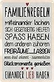 Blechwaren Fabrik Braunschweig GmbH Familienregeln Shabby
