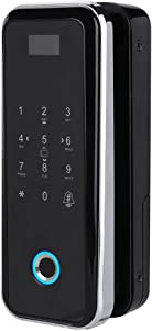 Fingerprint Padlock, 4-in-1 Fingerprint, Password, Credit Card and Remote Control Fingerprint Lock Keyless Entry Door Lock, Keypad Door Lock for House Door, Suitcase, Backpack, Gym, Bike, Office