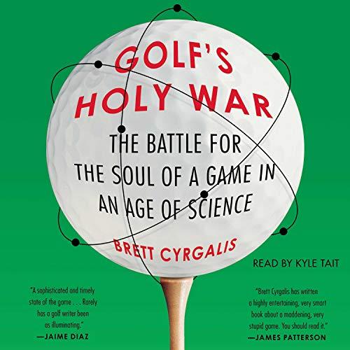 Golf's Holy War audiobook cover art