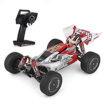 GoolRC Wltoys RC Car Remote Control Car XKS 144001 RC Car 60km/h High Speed 1/14 2.4GHz RC Buggy 4WD Racing Off-Road RTR Drift Car for Kids & Adults  Red