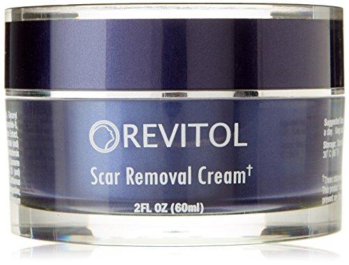 Revitol Scar Removal Cream - Lotion de traitement contre les cicatrices causées par l'acné ou autres ~ 1 pot