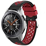 Songsier Compatible con Correa Gear S3 Frontier/Galaxy Watch 3 45mm/Galaxy Watch 46mm/Gear 2 /Huawei...
