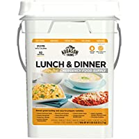 Augason Farms Lunch & Dinner Emergency Food Supply 4-Gallon Pail