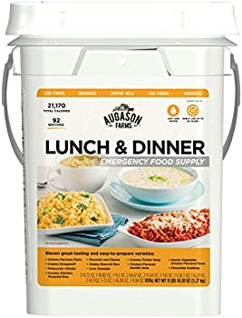 Augason Farms Lunch & Dinner Emergency Food Supply 4-Gallon Pail