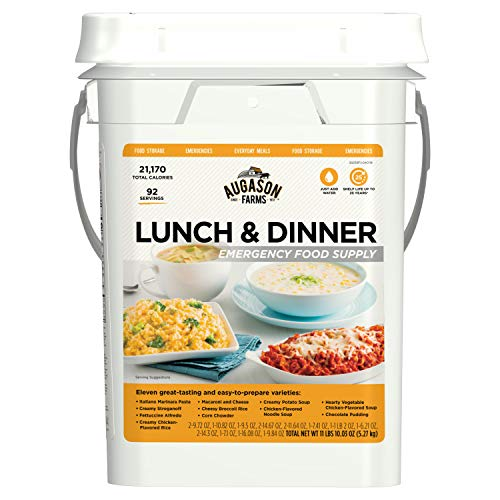 Augason Farms Lunch & Dinner Emergency Food Supply  $60 at Amazon