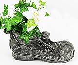 Shoe Planter Garden Concrete Flower Old Shoe Pot