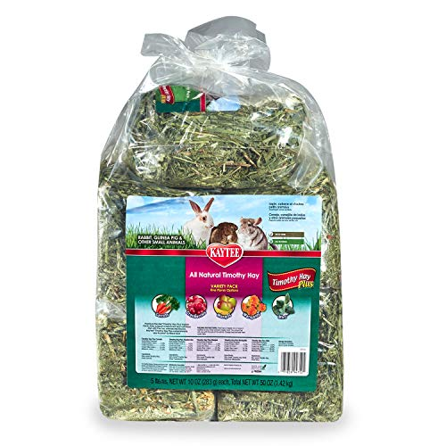 Kaytee Timothy Hay Plus Variety Pack 50 oz