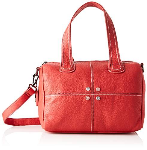 ctta caminatta S3004, Bolso bolera para Mujer, Rojo (Rojo), 15x21x31 cm (W x H x L)